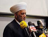 مفتى لبنان: الدولة تحرص على الدين ليبقى على أسسه وترعى مصالح الناس