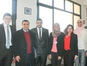 """فريق """"حقوق عين شمس"""" يفوز بالمركز الثانى لمسابقة """"أكسفورد"""" الإقليمية"""