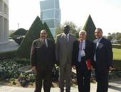 العوضى يجتمع بمسئولى اتحاد اليد لمناقشة الاستعداد لأمم أفريقيا