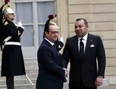 بالصور.. ملك المغرب يزور باريس ويتفقد معرض أوزوريس وأسرار مصر المغمورة