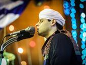 """بالصور..""""التهامى""""يشدو  فى حفل الليلة الكبيرة بذكرى استقرار رأس الإمام الحسين"""
