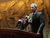 """بدء ندوة """"الدستور مطلبنا"""" بمقر المجلس الوطنى المصرى"""