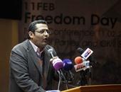 بالصور.. خالد البلشى: مطالب ثورة 25 يناير لم تتحقق رغم مرور 5 سنوات على تنحى مبارك
