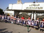 """بدء توافد أنصار """"مبارك"""" على مستشفى المعادى لإحياء ذكرى تنحيه عن الحكم"""