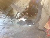 سقوط سيارة نقل من أعلى دائرى المريوطية ووفاة شخص