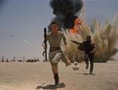 """بالفيديو والصور..""""Star Wars: The Force Awakens"""" ثامن أكثر الأفلام إيرادات فى تاريخ السينما العالمية.. ويطيح بـ""""Martian"""" و""""Hunger games"""" من سباق 2015.. وأبطاله يروجون للجزء القادم ويصفونه بالأكثر قتامة"""