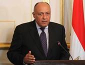 سامح شكرى يجرى اتصالات بالوزراء العرب لدعم المرشح المصرى للجامعة العربية