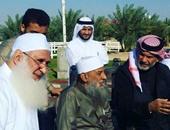 محمد حسين يعقوب يزور أبو إسحاق الحوينى بدولة قطر للاطمئنان على صحته