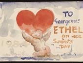 بالصور.. احتفالاً بعيد الحب.. خطابات ورسائل تاريخية للرسامين الأحبة