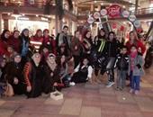 بالصور.. سباق دراجات بخارية وتوزيع حلويات بالإسكندرية احتفالا بعيد الحب