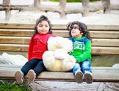 """بالصور.. للصداقة مكان فى عيد الحب """"إسلام وأنسام"""" أصغر محتفلين"""
