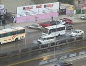 فيديو.. سيولة مرورية بشارع مصطفى النحاس المتجه من وإلى وسط القاهرة