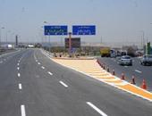 سيولة مرورية أعلى محور المشير المتجه من التجمع لوسط القاهرة