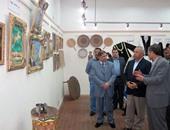 """افتتاح معرض """"العادات والتقاليد"""" بالشرقاوية بقصر ثقافة الزقازيق"""