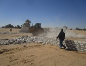 استرداد قطعة أرض أملاك دولة بالمطرية ورفع الإشغالات بعدة شوارع
