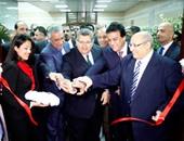 """بالصور.. وزيرا التعليم العالى والتنمية المحلية يفتتاحان إنشاءات جديدة بـ""""طب عين شمس"""""""