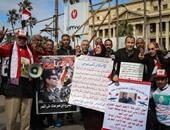 متظاهرو القائد إبراهيم يطالبون بإعدام الإخوان و محاربة الإرهاب