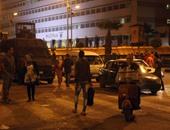 الشرطة تقنع متظاهرى الدرب الأحمر بفتح طريق مديرية أمن القاهرة