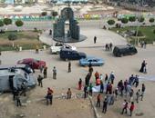 صحافة المواطن.. بالصور : أهالى منطقة الاستاد بطنطا ينظمون وقفة احتجاجية لوقف بناء أبراج سكنية