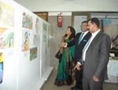 """بالصور.. سفير الهند يزور """"ثقافة أسوان"""""""