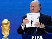 كأس العالم.. الرئيس السابق للاتحاد الدولى لكرة القدم يصل فندق وسط موسكو
