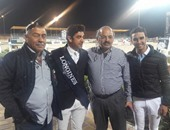 بالصور.. كريم الزغبى لاعب الفروسية يتأهل لأولمبياد ريو دى جانيرو