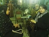 """بالفيديو والصور.. هند عاكف تعزى أسرة """"دربكة"""" وتناشد الرئيس بالقصاص"""