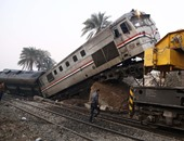 مصرع 3 وإصابة 4 بينهم 3 أطفال فى حادث تصادم قطار وسيارة أجرة بالشرقية