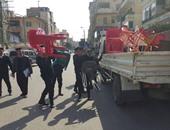 ضبط 112 بائعا متجولا ورفع 72 عربة مأكولات وتنفيذ 658 قرار إزالة بالقاهرة