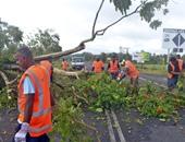 """مصرع 6 أشخاص بسبب انهيارات أرضية جراء العاصفة """"ايرل"""" فى المكسيك"""