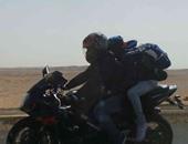 بالصور.. سباق رالى درجات بخارية على هامش احتفالية تعامد الشمس بأبو سمبل