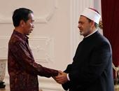 الرئيس الإندونيسى ونائبه يشاركون العالم فى الدعاء والصلاة من أجل الإنسانية