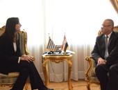 وزير الطيران يلتقى وزيرة السياحة اليونانية لبحث التعاون فى مجال تنشيط السياحة