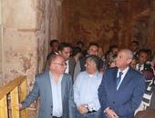 """الشبورة المائية تحرم الآلاف من مشاهدة """"تعامد الشمس"""" على معبد أبوسمبل"""