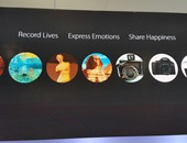"""بالصور.. """"أوبو"""" تستعين بصورة أبو الهول للترويج لهواتفها بمعرض برشلونة"""