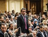 """مشادة بين مصطفى الجندى و""""حسب الله"""" تحت قبة البرلمان.. وعبدالعال: ميصحش كدة"""
