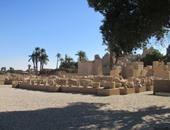 بالصور..شاهد آثار الفراعنة قبل عرضها للجمهور بالمتحف المفتوح فى الأقصر