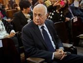 وزير الخارجية يقدم الشكر لنبيل العربى فى نهاية ولايته للجامعة العربية