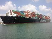 عبور 298 سفينة قناة السويس بحمول 15.5 مليون طن خلال ستة أيام
