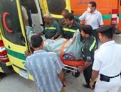 مصرع شخص إثر حادث انقلاب سيارة ملاكى أعلى طريق إسكندرية الصحراوى