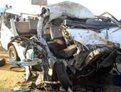 إصابة 6 فى حادث تصادم بالطريق الدولى غرب الإسكندرية