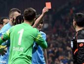 إيقاف لاعب طرابزون التركى 3 مباريات بسبب طرد الحكم