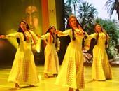 بالصور.. فرقة رضا تبهر الصينين.. والتنورة المصرية الأكثر جاذبية