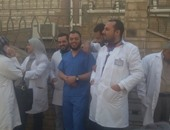 """""""أطباء الدقهلية"""" تبدأ التصعيد الثانى والتعامل مع المواطنين وعلاجهم مجانا"""