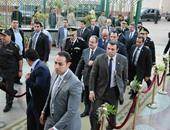 وزير الداخلية يتفقد الحالة الأمنية بالحسين
