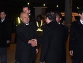 """بالفيديو.. الرئيس السيسى يصل مقر البرلمان اليابانى واستقبال حار من أعضاء """"الدايت"""""""