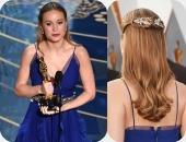 """لبست منين وبكام؟..تفاصيل إطلالة """"برى لارسون"""" الفائزة بأوسكار أفضل ممثلة"""