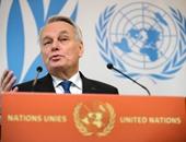 وزير خارجية فرنسا: سأركز على الأزمة السورية وإحياء السلام فى الشرق الأوسط