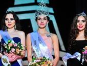بالصور.. أجمل فتيات روسيا فى مسابقة مكلة جمال موسكو 2016