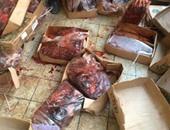 بالصور.. ضبط ربع طن كبدة ولحوم فاسدة بمنفذ بيع فى الإسماعيلية